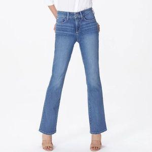 NYDJ Barbara Boot Cut Denim Jeans 10 Long
